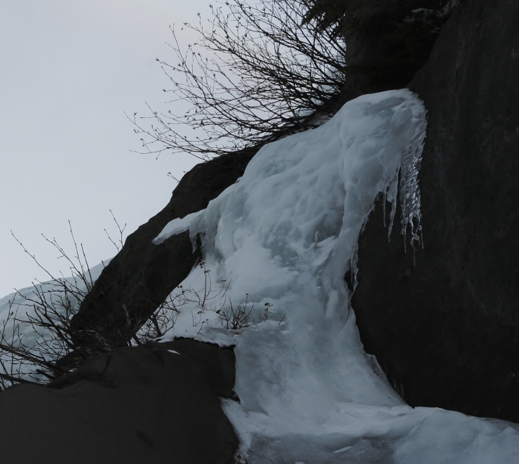 mountain ice ghost ...