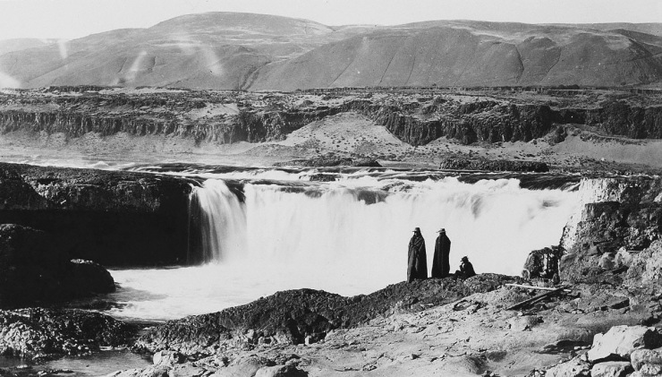 Celilo Falls - Wyam - Photo from the archives of the Oregon Historical Society
