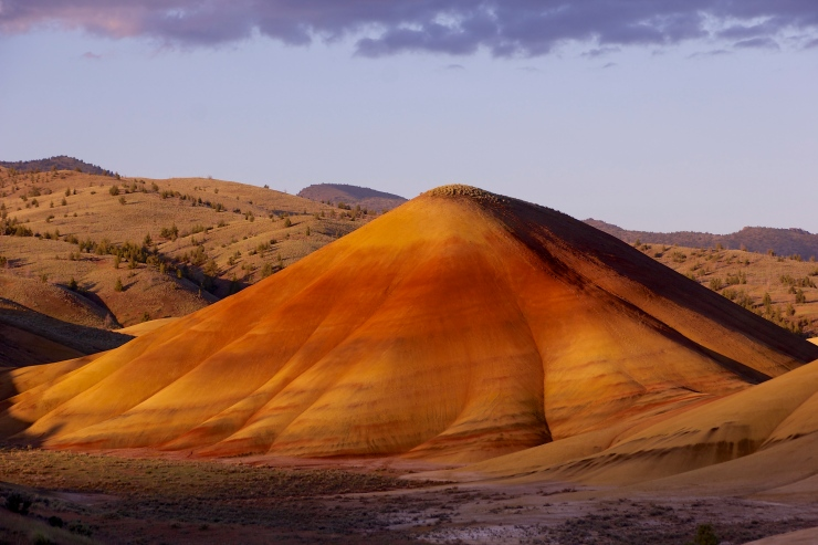Painted Hills - Gentle Lines II