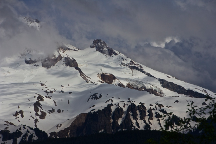 Illumination Rock, Sandy & Reid Glaciers