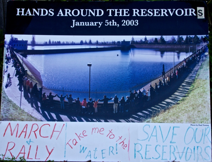 Historic Hands Around the Reservoir January 2003