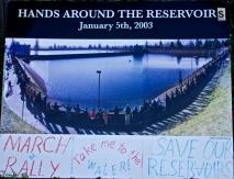 Historic Hands Around the Reservoir