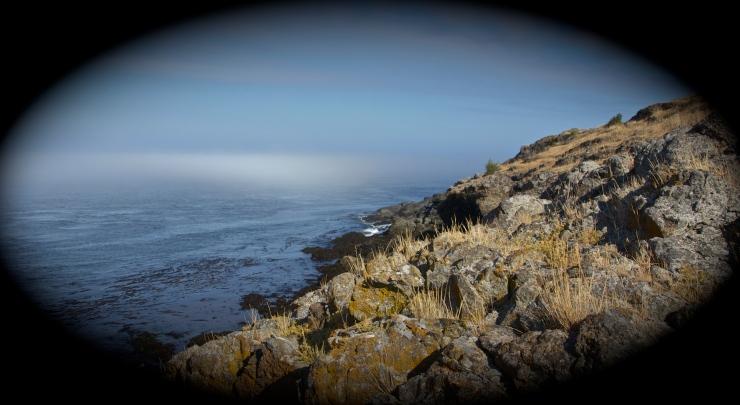 Haro Stait in morning mist
