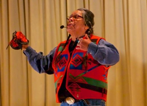 Ed Edmo - Shoshone-Bannock, Nez Perce