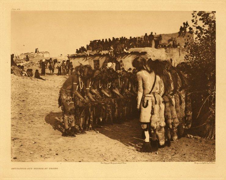 Antelopes and Snakes at Oraibi