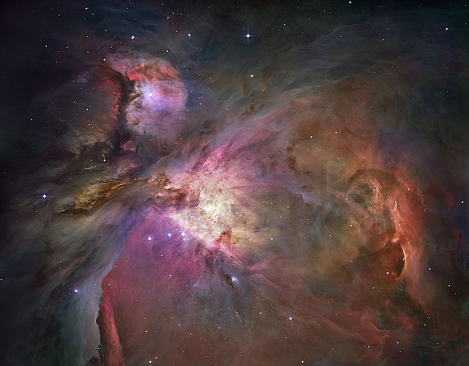 orion nebula star nursery II