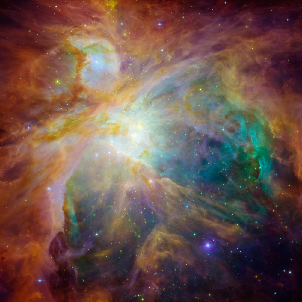 orion nebula star nursery