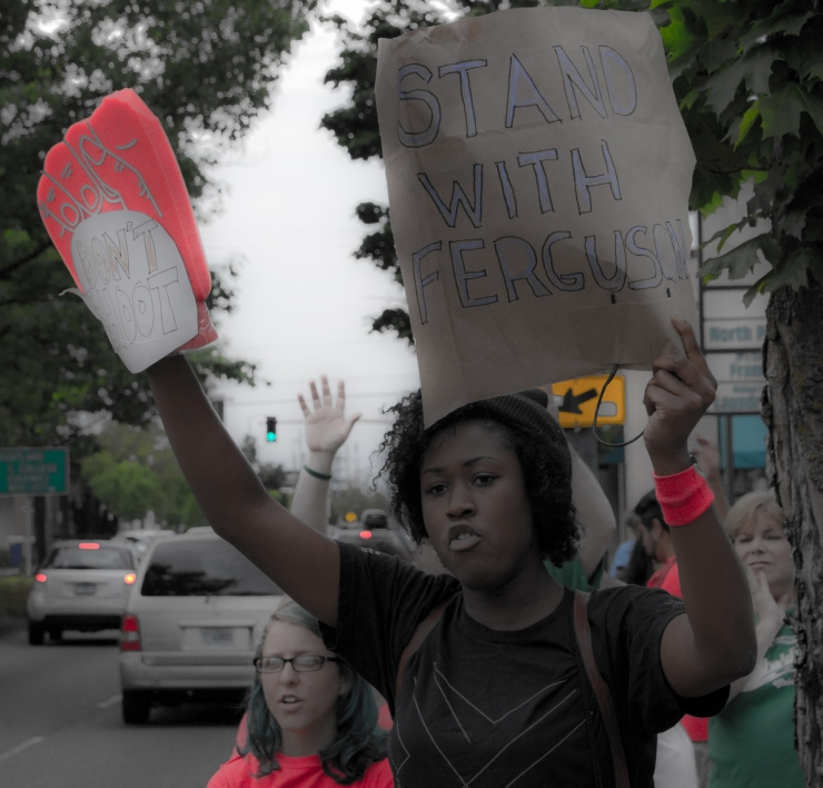 Portland Ferguson Solidarity - August 18th