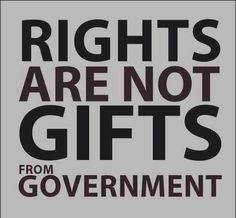 rights are not gits