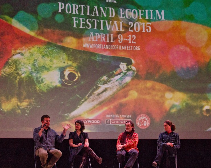 Imagery from the Breach became theme imagery for the 2015 Portland EcoFilm Festival - Q & A after the Oregon Premiere